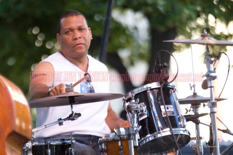Leon Jordan, Jr.2007 Clifford Brown Jazz Festival in Wilmington, Delaware