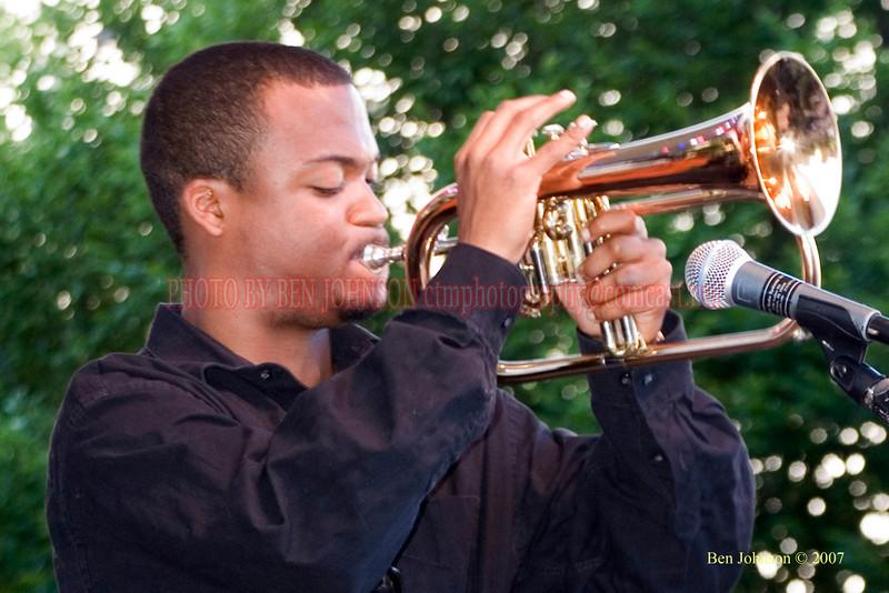Leon Jordan - 2007 Clifford Brown Jazz Festival in Wilmington, Delaware