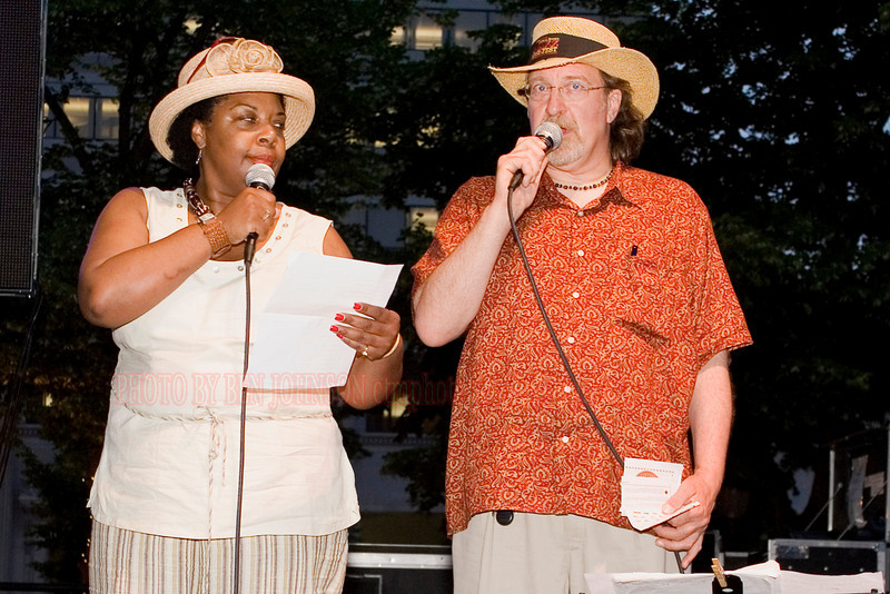 Tina Betz and John Regan - 2007 Clifford Brown Jazz Festival in Wilmington, Delaware