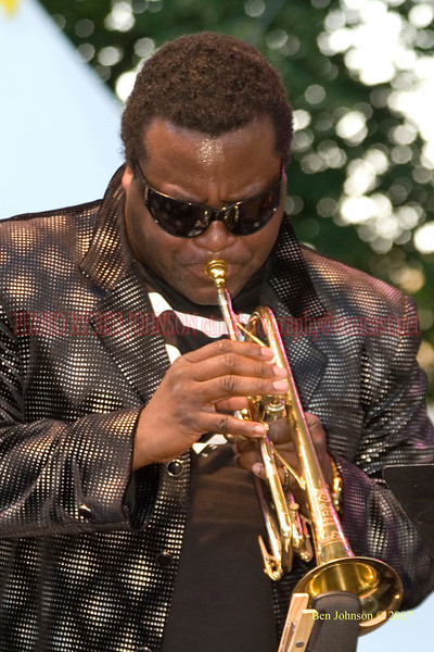 Wallace Roney - 2007 Clifford Brown Jazz Festival in Wilmington, Delaware