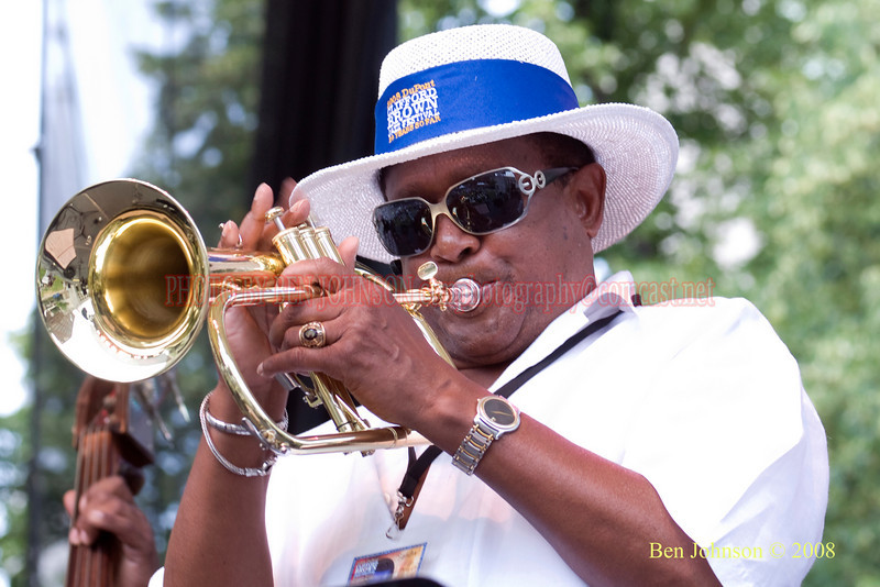 Dr.  Richard Williams - 2008 Clifford Brown Jazz Festival in Wilmington, Delaware