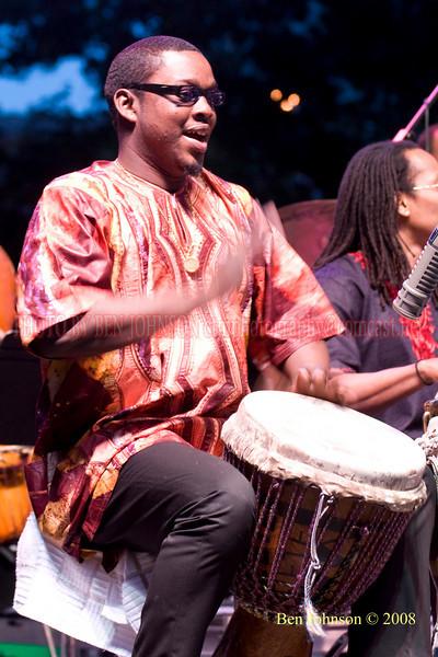 Alioun Faye- 2008 Clifford Brown Jazz Festival in Wilmington, Delaware