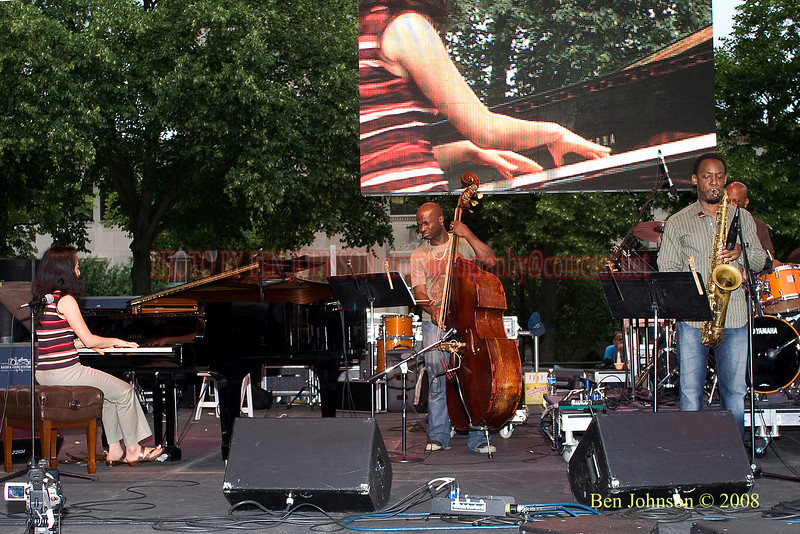 Helen Sung Quartet - 2008 Clifford Brown Jazz Festival in Wilmington, Delaware Helen Sung