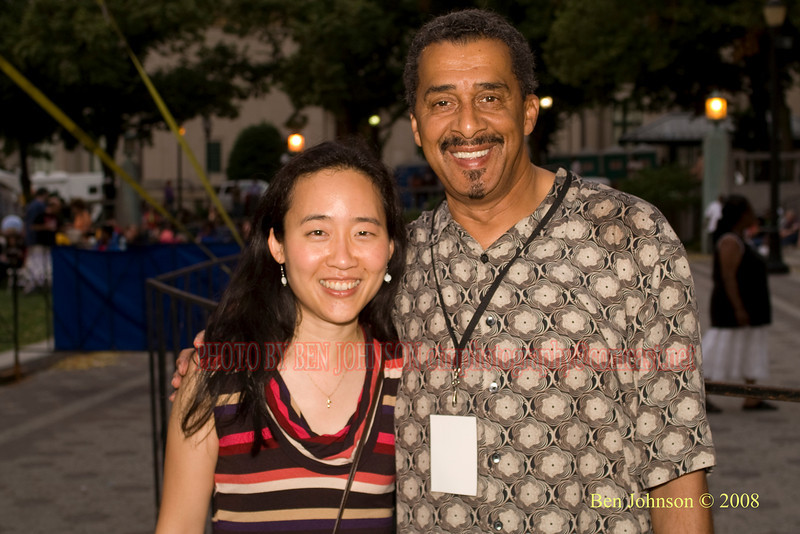Helen Sung and Ben Johnson - 2008 Clifford Brown Jazz Festival in Wilmington, Delaware
