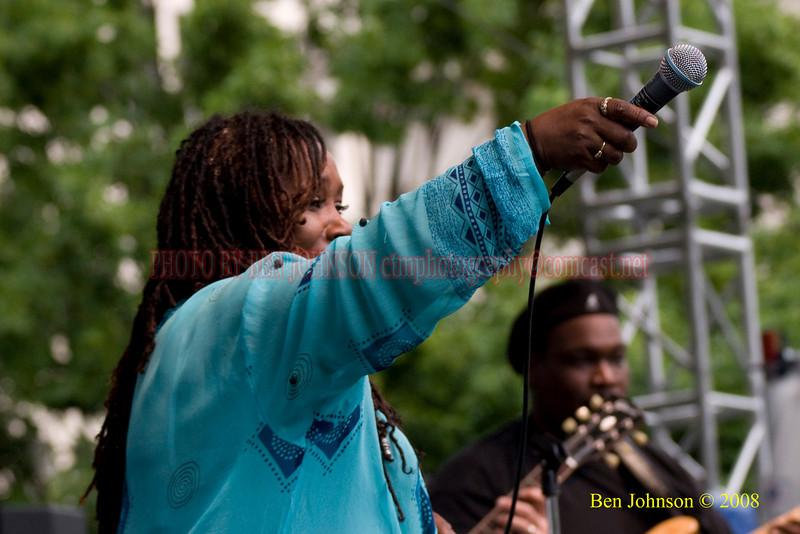 Denise King - 2008 Clifford Brown Jazz Festival in Wilmington, Delaware