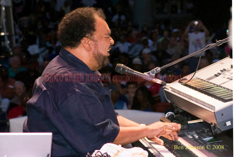 George Duke - 2008 Clifford Brown Jazz Festival in Wilmington, Delaware