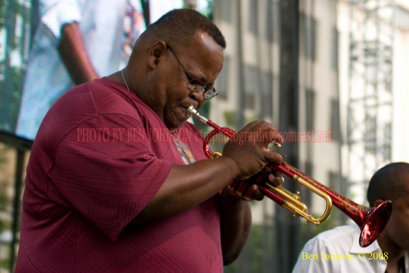 Tony 'Big Cat' Smith - 2008 Clifford Brown Jazz Festival in Wilmington, Delaware