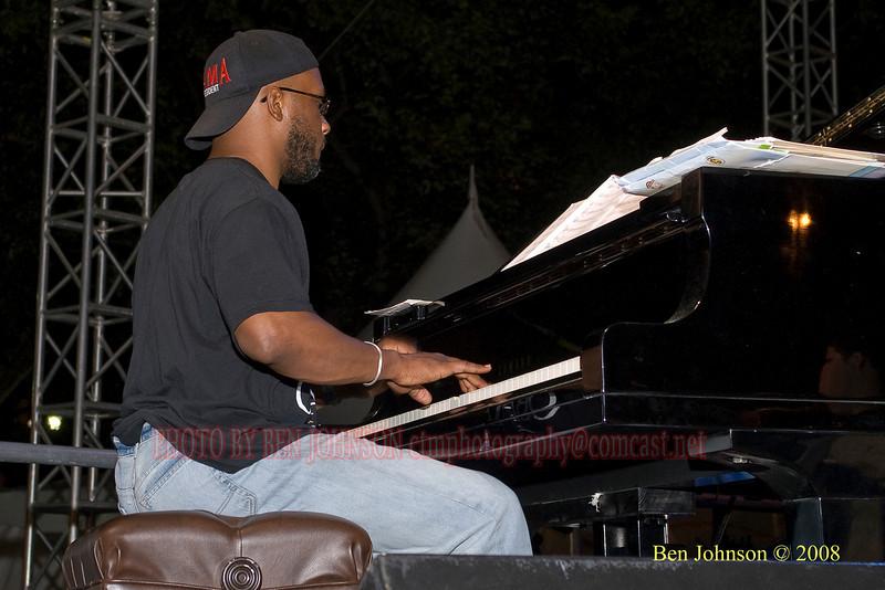 Orrin Evans - 2008 Clifford Brown Jazz Festival in Wilmington, Delaware
