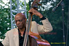 Jazz legend Reggie Workman performing with 'Trio 3' at The 2008 Clifford Brown Jazz Festival in Wilmington, Delaware