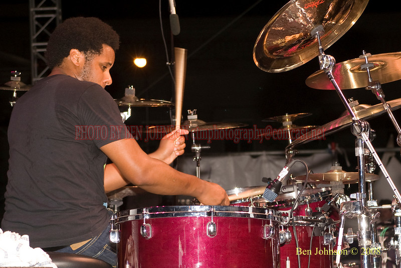 Ronald Bruner, Jr. - 2008 Clifford Brown Jazz Festival in Wilmington, Delaware