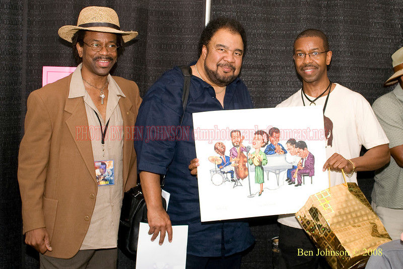 Wilby Fletcher, Jr and George Duke - 2008 Clifford Brown Jazz Festival in Wilmington, Delaware