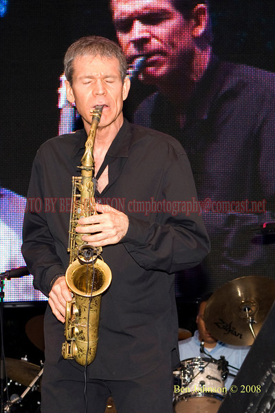 David Sanborn - 2008 Clifford Brown Jazz Festival in Wilmington, Delaware