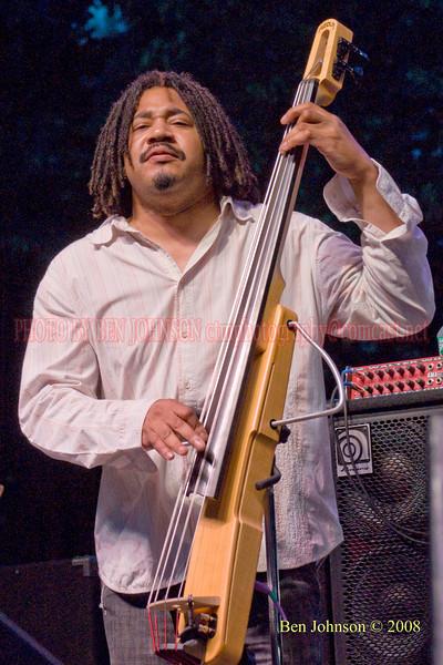 James Genus - 2008 Clifford Brown Jazz Festival in Wilmington, Delaware