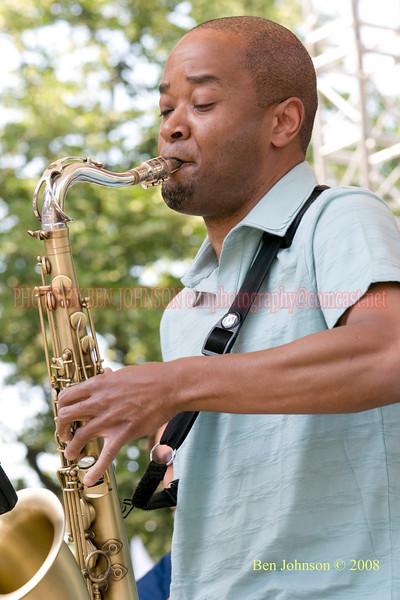 Greg Riley - 2008 Clifford Brown Jazz Festival in Wilmington, Delaware
