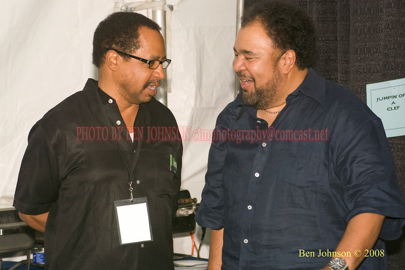 Clifford Brown, Jr. and George Duke - 2008 Clifford Brown Jazz Festival in Wilmington, Delaware