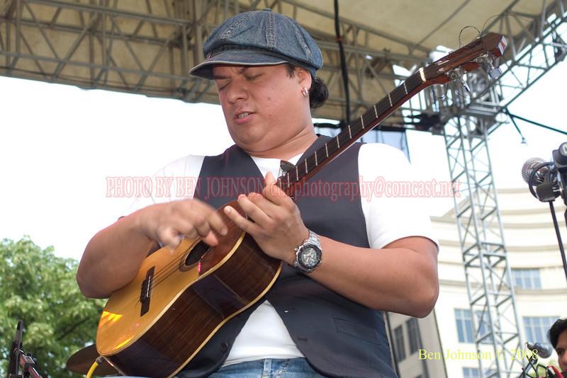 Jorge Palanco - 2008 Clifford Brown Jazz Festival in Wilmington, Delaware