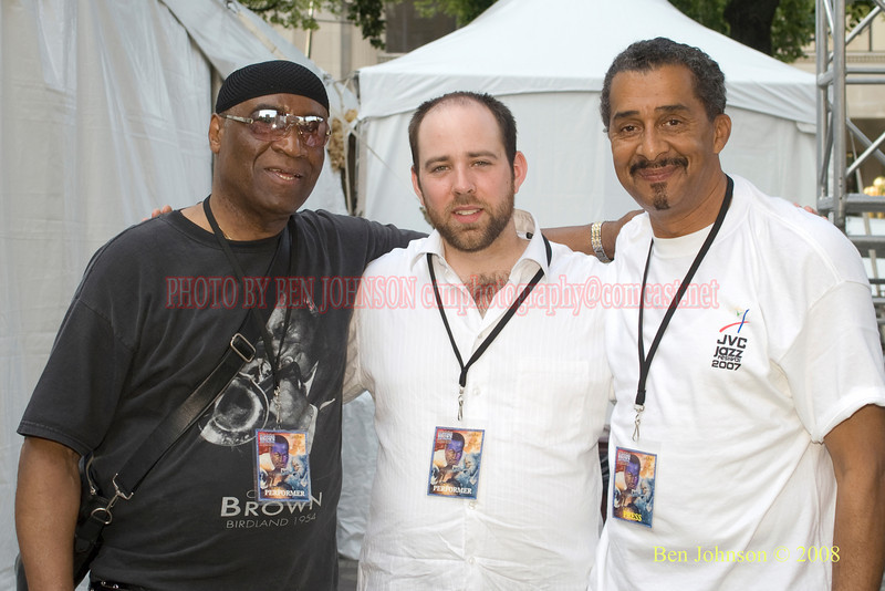 Rashied Ali, Ryan Berg and Ben Johnson - 2008 Clifford Brown Jazz Festival in Wilmington, Delaware