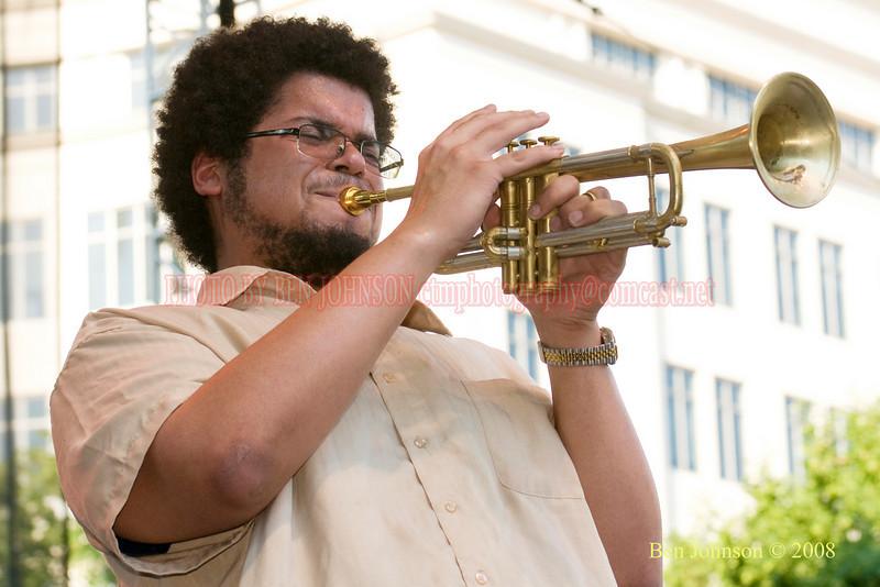 Josh Evans - 2008 Clifford Brown Jazz Festival in Wilmington, Delaware