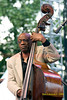 Jazz legend Reggie Workman performing with 'Trio 3'2008 Clifford Brown Jazz Festival in Wilmington, Delaware