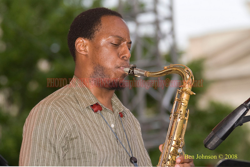 Marcus Stricklan - 2008 Clifford Brown Jazz Festival in Wilmington, Delaware
