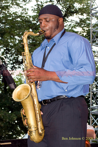 Lawrence Clark - 2008 Clifford Brown Jazz Festival in Wilmington, Delaware