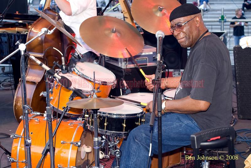 Rashied Ali - 2008 Clifford Brown Jazz Festival in Wilmington, Delaware