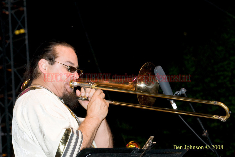 Steve Turre - 2008 Clifford Brown Jazz Festival in Wilmington, Delaware