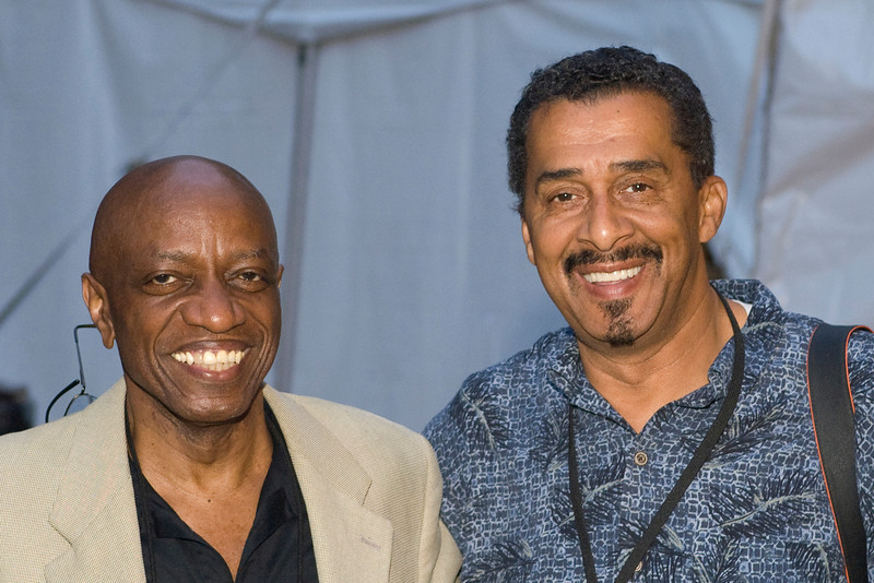Reggie Workman and Ben Johnson - 2008 Clifford Brown Jazz Festival in Wilmington, Delaware