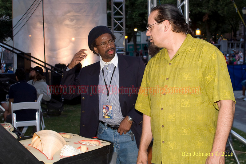 Wilby Fletcher, Jr. and Steve Turre - 2008 Clifford Brown Jazz Festival in Wilmington, Delaware