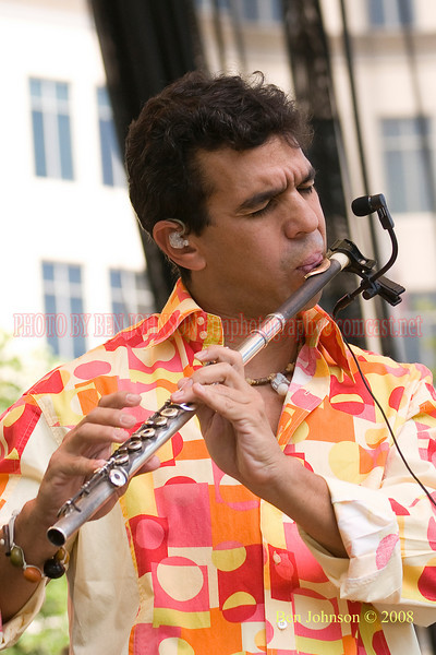 Huascar Barrada - 2008 Clifford Brown Jazz Festival in Wilmington, Delaware