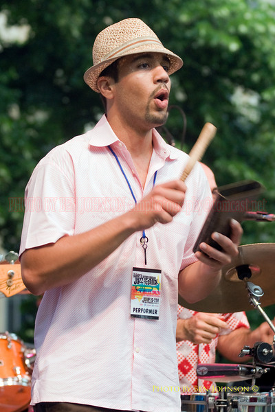 Bio Ritmo Performing at The 21st Annual Clifford Brown Jazz Festival at Rodney Square in Wilmington, Delaware, June 15 -21, 2009