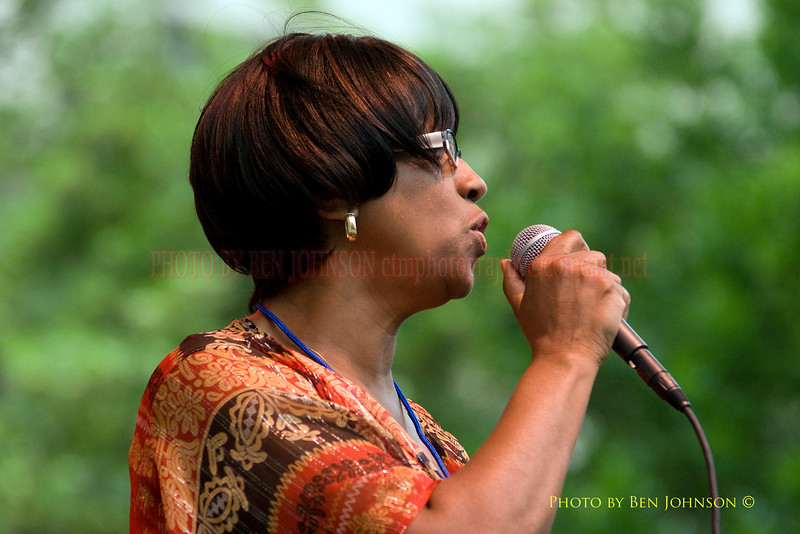 Barbara Yates Photo Performing withWayne Morgan at The 21st Annual Clifford Brown Jazz Festival at Rodney Square in Wilmington, Delaware, June 15 -21, 2009