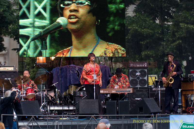 The Wayne Morgan Quartet featuring Barbara Yates Photo - Performing at The 21st Annual Clifford Brown Jazz Festival at Rodney Square in Wilmington, Delaware, June 15 -21, 2009