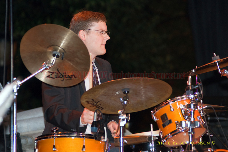 Phil Hawkins Photo - Performing with Pete Escovedo at The 21st Annual Clifford Brown Jazz Festival at Rodney Square in Wilmington, Delaware, June 15 -21, 2009
