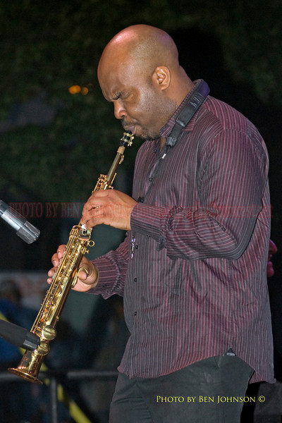 Jaleel Shaw - Performing at The 21st Annual Clifford Brown Jazz Festival at Rodney Square in Wilmington, Delaware, June 15 -21, 2009