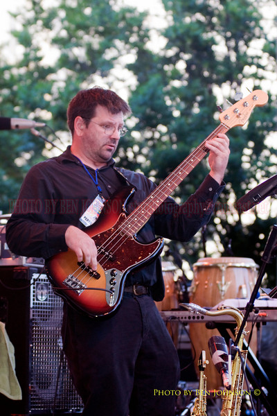 Bob Colligan Photo with John DiGiovanni's Kombu Combo - Performing at The 21st Annual Clifford Brown Jazz Festival at Rodney Square in Wilmington, Delaware, June 15 -21, 2009