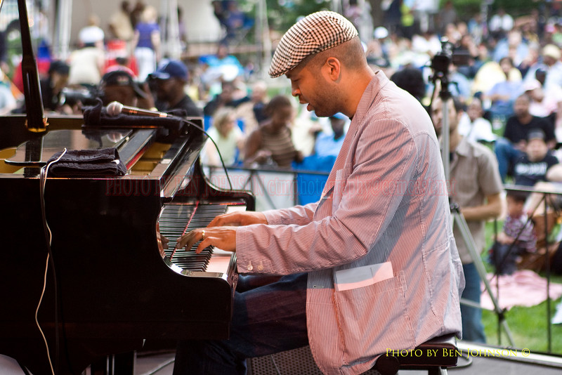 Jason Moran - Performing at The 21st Annual Clifford Brown Jazz Festival at Rodney Square in Wilmington, Delaware, June 15 -21, 2009