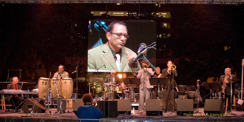 Pete Escovedo Orchestra Photo - Performing at The 21st Annual Clifford Brown Jazz Festival at Rodney Square in Wilmington, Delaware, June 15 -21, 2009