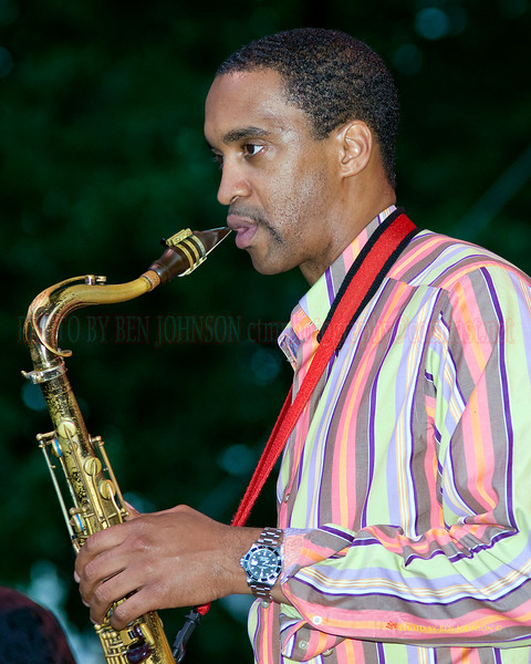 Javon Jackson Photo - Performing at The 21st Annual Clifford Brown Jazz Festival at Rodney Square in Wilmington, Delaware, June 15 -21, 2009