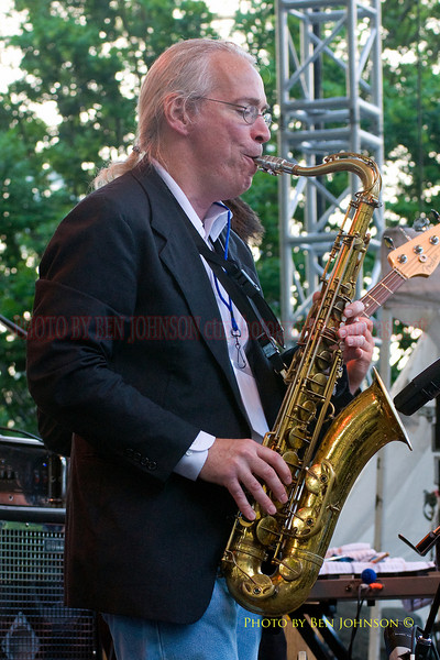 Frank McKitty Photo with John DiGiovanni's Kombu Combo - Performing at The 21st Annual Clifford Brown Jazz Festival at Rodney Square in Wilmington, Delaware, June 15 -21, 2009