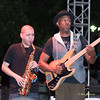 Alex Han and Marcus Miller photo - with Marcus Miller performing at The 22nd Annual Clifford Brown Jazz Festival in Rodney Square, Wilmington, Delaware, held June 15-20, 2010