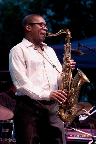 Ravi Coltrane photo - performing at The 22nd Annual Clifford Brown Jazz Festival in Rodney Square, Wilmington, Delaware, held June 15-20, 2010