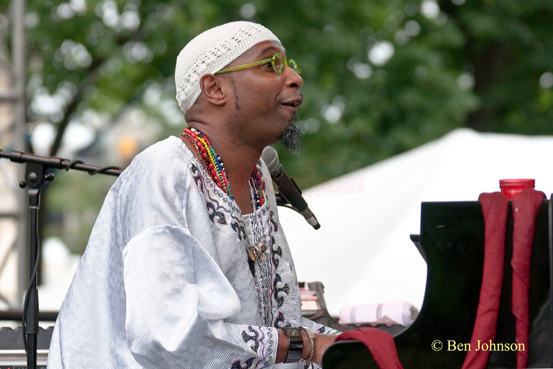 Omar Sosa Photo - performing at The 22nd Annual Clifford Brown Jazz Festival in Rodney Square, Wilmington, Delaware, held June 15-20, 2010