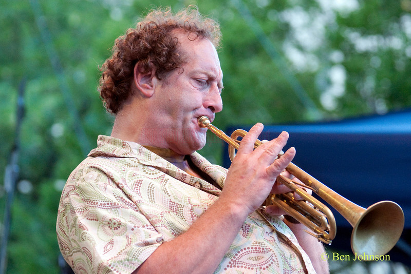 Willie Waldman photo - with Eric Crittenden's A Soulprovisational Experience performing at The 22nd Annual Clifford Brown Jazz Festival in Rodney Square, Wilmington, Delaware, held June 15-20, 2010