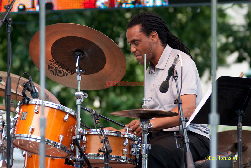 Yoron Israel - performing at The 2011 Dupont Clifford Brown Jazz Festival held in Rodney Square in Downtown Wilmington, Delaware.