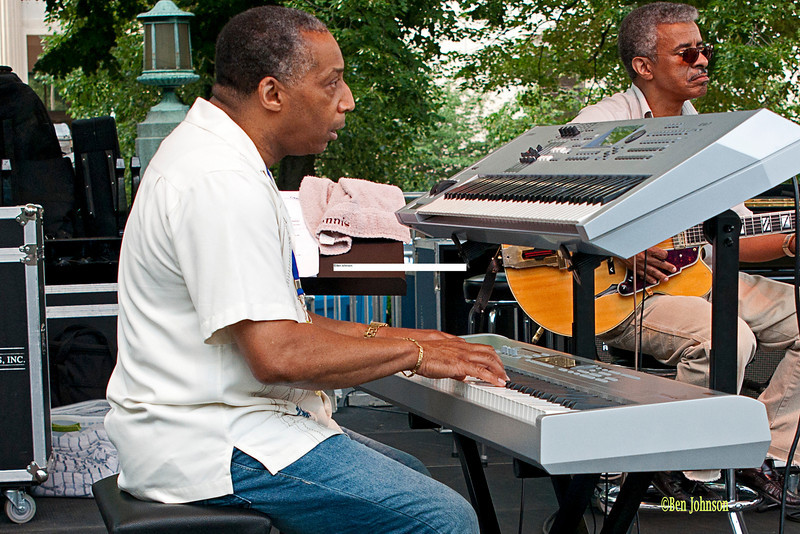 Dennis Fortune - performing at The 2011 Dupont Clifford Brown Jazz Festival held in Rodney Square in Downtown Wilmington, Delaware.