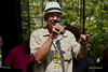 Jeff Duperon - Emceeing The 2011 Dupont Clifford Brown Jazz Festival held in Rodney Square in Downtown Wilmington, Delaware.