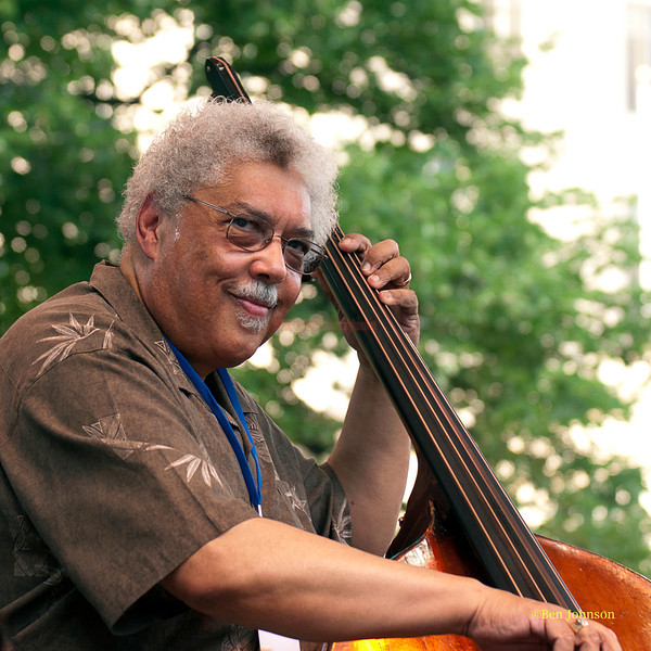 Rufus Reid - performing at The 2011 Dupont Clifford Brown Jazz Festival held in Rodney Square in Downtown Wilmington, Delaware