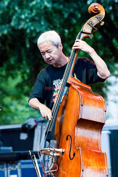 Hide' Tanaka - performing at The 2011 Dupont Clifford Brown Jazz Festival held in Rodney Square in Downtown Wilmington, Delaware.