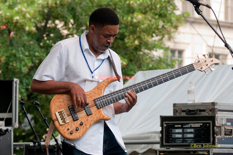 Michael Cruse - performing at The 2011 Dupont Clifford Brown Jazz Festival held in Rodney Square in Downtown Wilmington, Delaware.